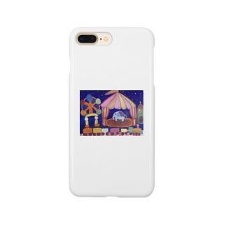 夜の遊園地 Smartphone cases