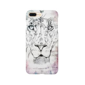 カラフルなライオン Smartphone Case