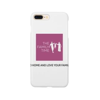 家族の時間(THE FAMILY TIME) ピンク Smartphone cases