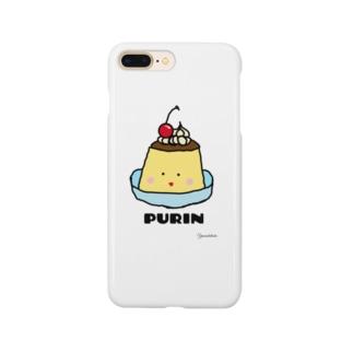 ぷるぷるプリン🍮 Smartphone cases