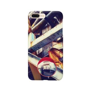 ガードミラーのある風景 Smartphone cases