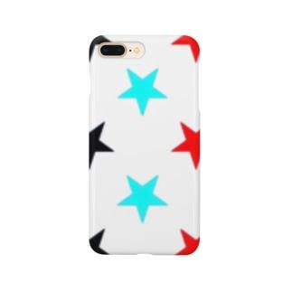 3色逆星スマホカバー Smartphone cases