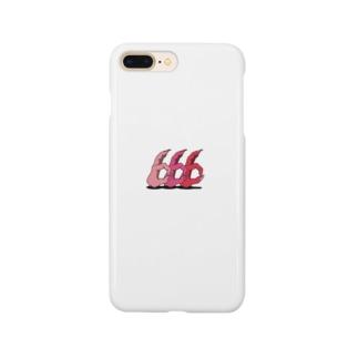 666 HANDSIGN スマホケース Smartphone cases