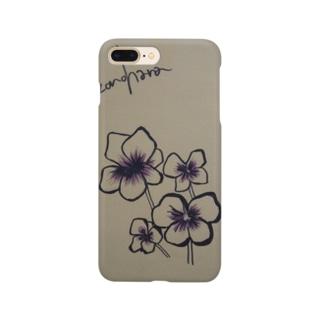 謎の花 Smartphone cases