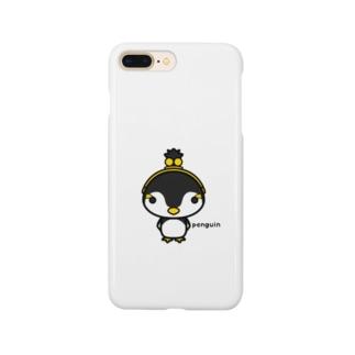 がま口ペンギンさん Smartphone cases