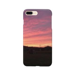 しらさぎ荘の夕暮れ Smartphone cases