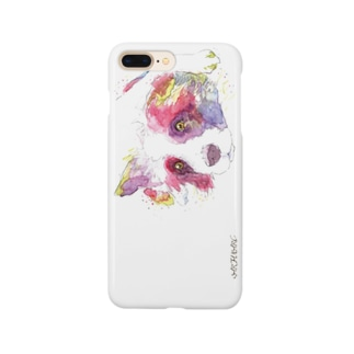 イヌ_dog.1_watercolor Smartphone cases
