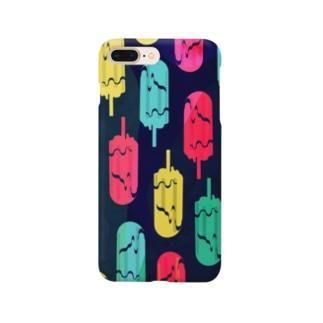 アイスキャンドルゴースト Smartphone cases