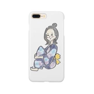 花火大会の彼女 Smartphone cases