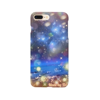 Pleiades floating on the horizon Smartphone cases