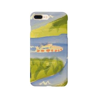 河川を行く Smartphone cases