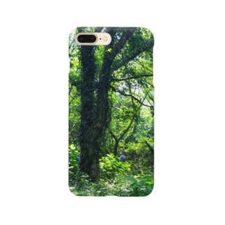 大自然!の緑&花。 Smartphone cases