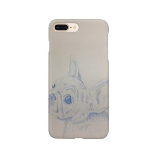 フレンチブル好きのための小物 Smartphone cases