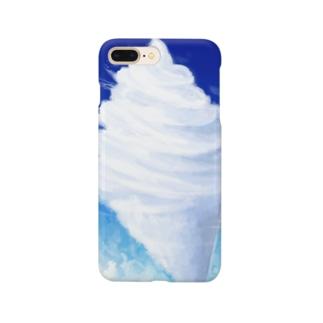 ソフトクリームみたいな雲 Smartphone Case