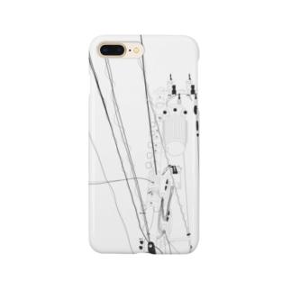 電柱人間 Smartphone cases