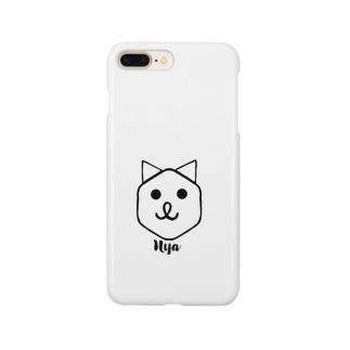 にゃん Smartphone cases