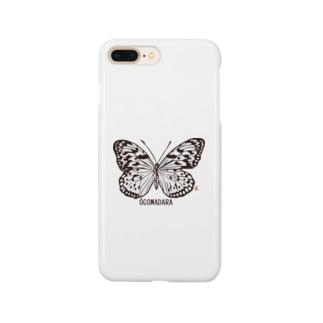 オオゴマダラ Smartphone cases