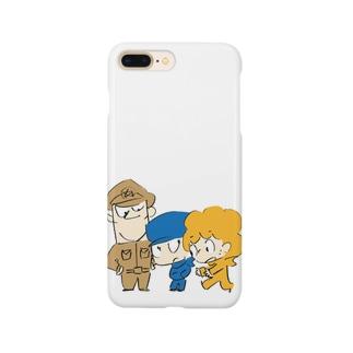 ジャミオとアフローとグッドマン Smartphone cases