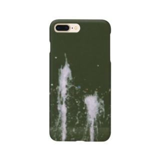 夜の噴水 Smartphone cases
