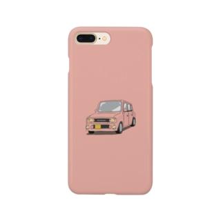 ラパンss (ピンク) Smartphone cases