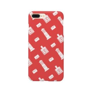 ポストと手紙 Smartphone cases