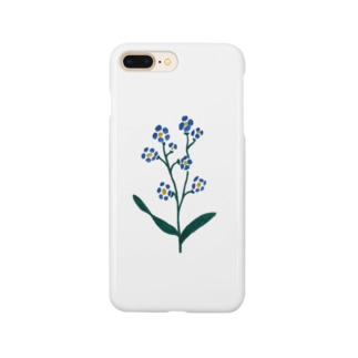 forget me not. Smartphone cases