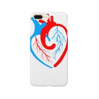 ハートの心臓 Smartphone cases
