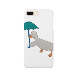 お出かけアヒルさん Smartphone cases