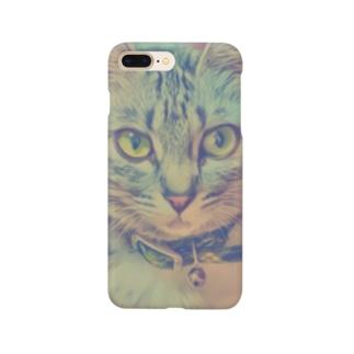 次女猫ニコ Smartphone cases