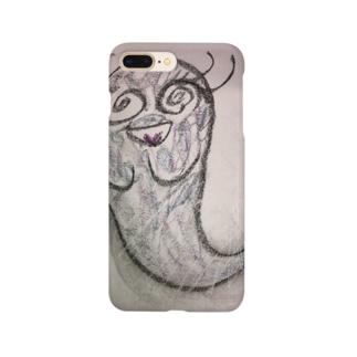 nenのスマホケース(Ghost) Smartphone cases