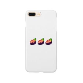 ドッド絵 いくら軍艦3巻 Smartphone cases