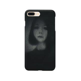 暗闇の富江さん Smartphone cases
