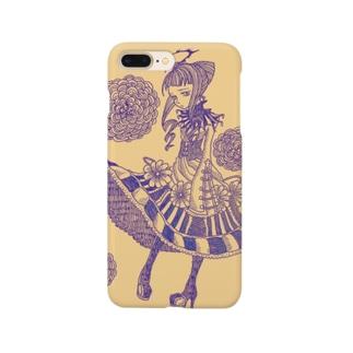 光輪の少女 Smartphone cases