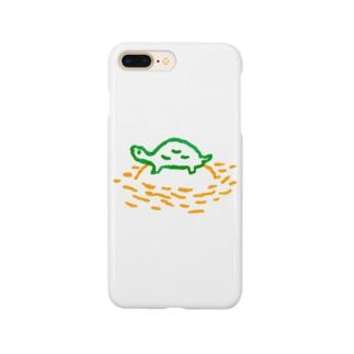 日向ぼっこ(カラー) Smartphone cases