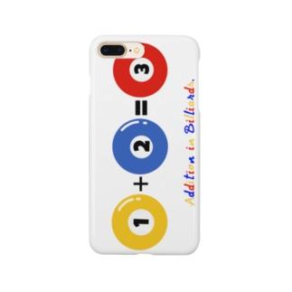 Addition in Billiards. Smartphone cases