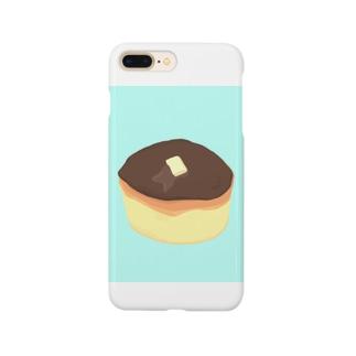 まるこげパンケーキ Smartphone cases