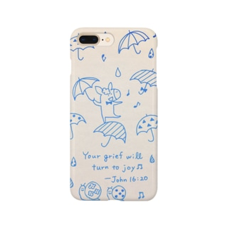 Donkey in the rain Smartphone cases