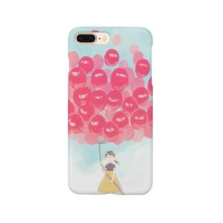 赤い風船 Smartphone cases