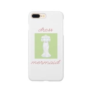 マーメイドワンピース Smartphone cases