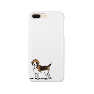 ビーグルのラッピーさん Smartphone cases