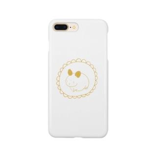 ゆめめんちのしょーぐん(ひまわり) Smartphone cases