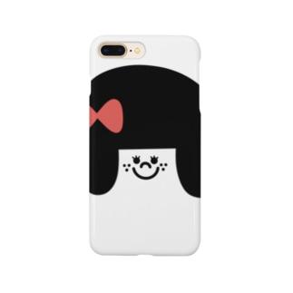 りぼんの女の子 Smartphone cases