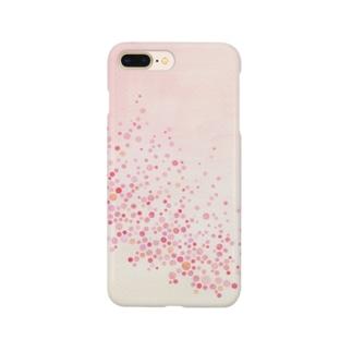 シャワードット-coral- Smartphone cases