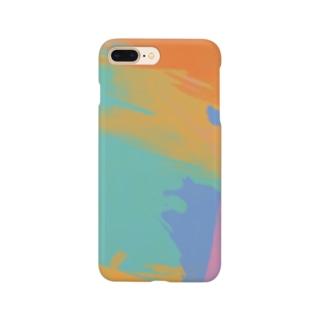 絵具まみれ Smartphone cases