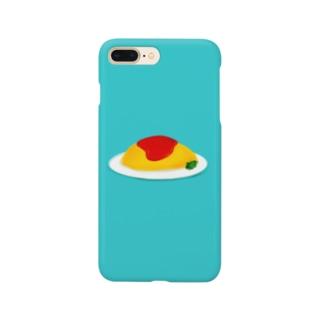 オムちゃん Smartphone cases
