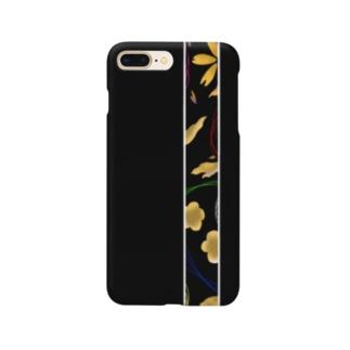 黒な和スマホケース Smartphone cases