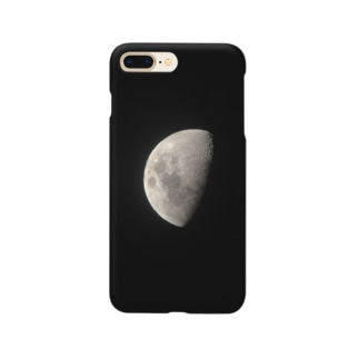 クレーターの見える月 Smartphone cases
