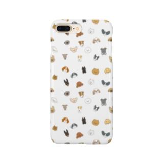 ワンコがいっぱい(小型犬) Smartphone cases
