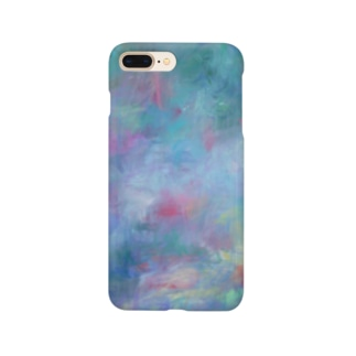 Pink×Blue-夏の終わり- Smartphone cases