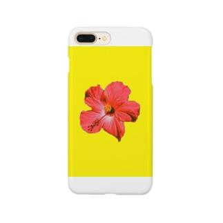沖縄のアカバナー Smartphone cases